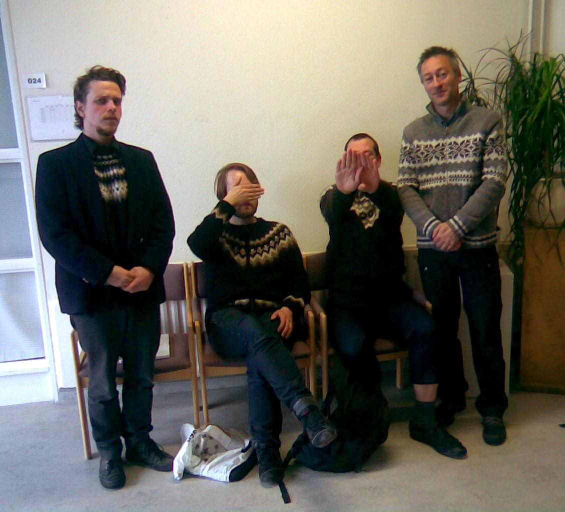 Páll, Jxxxxx, Gxxxxxxxx and Chris