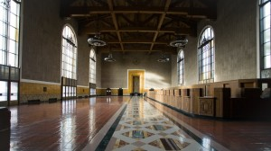 Photo by Lara Bank from One Minute Los Angeles - Union Station