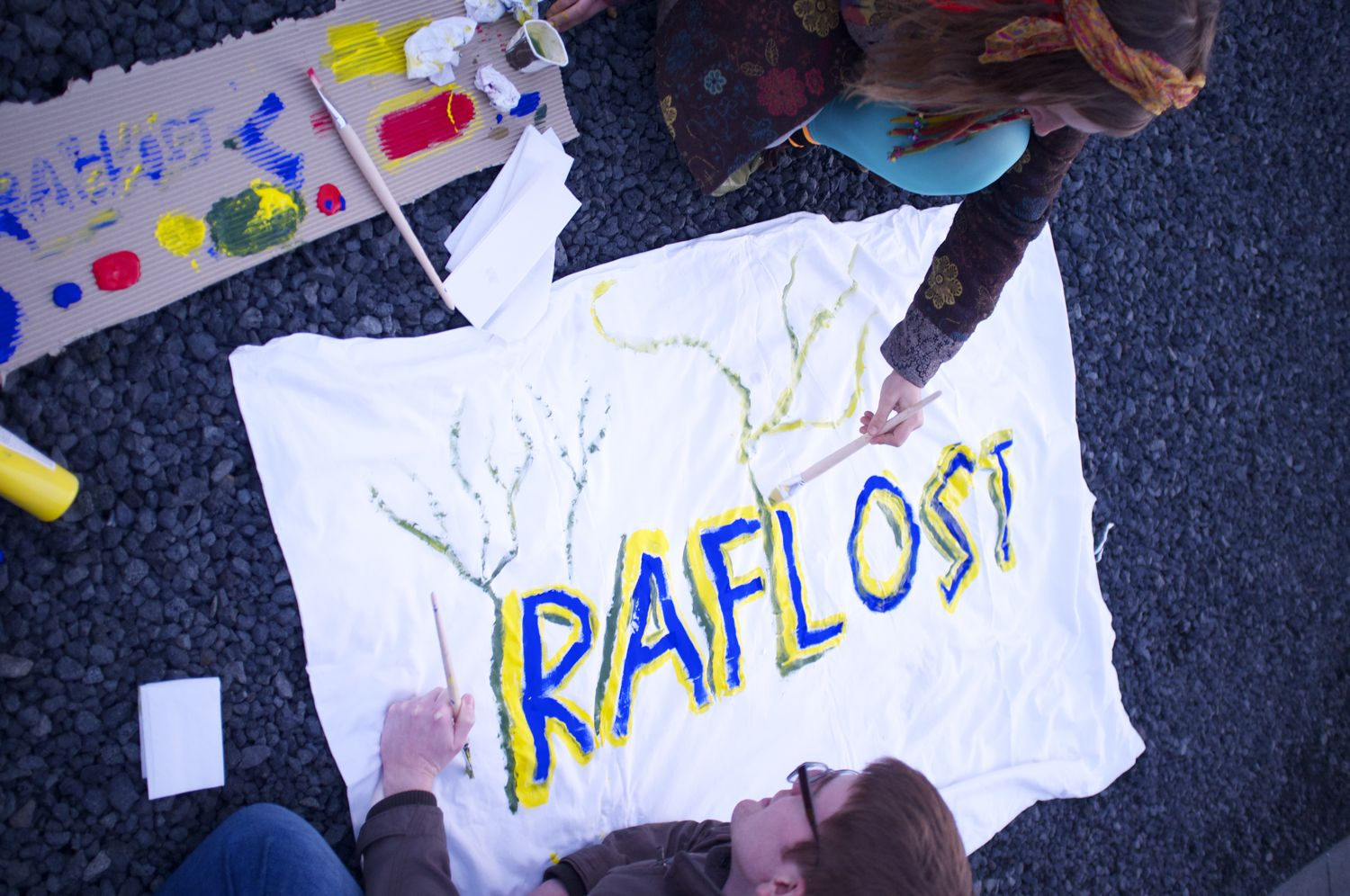 Making of the Raflost banner
